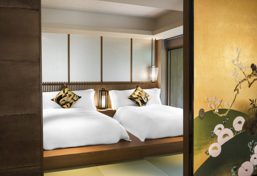 GYOKUTO Garden Terrace Suite Bed Room